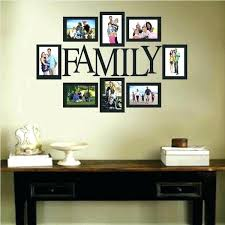 family frames for wall family frame wall decor family picture frame wall decal trendy wall designs family frames for wall