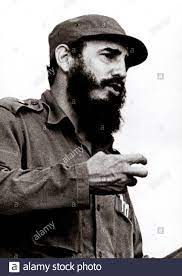 Cuban leader FIDEL CASTRO Stock Photo ...