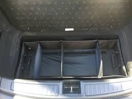 tesla model s trunk organizer