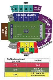 Usu Football Stadium Seating Chart 63 Experienced Utah State Football Seating Chart