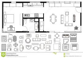 floor plan furniture vector. Attractive Free Floor Plan Icons Vector Apartment Interior Home Design For Furniture