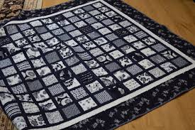 Pots and Pins, Creativity, Quilts, DIY Projects, Grandbabies, Parties & Terry made this fabulous quilt from Japanese fabrics she purchased in Japan.  They are the real deal and because of that, this quilt still