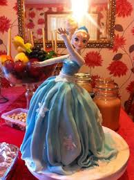 Frozen Elsa Birthday Cake Picture Of The Old Swan Tea Rooms