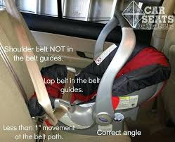 evenflo car seat instructions installing a infant car seat without the base always read the manual