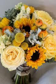 <b>yellow sunflower</b> wedding <b>flower bouquet</b>, bridal <b>bouquet</b>, wedding ...