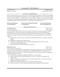 Resume For Outside Sales Resume Examples Sample Resume For Outside Sales By Avd 5