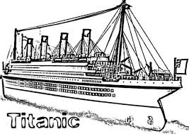 Small Picture Titanic Cruise Ship Coloring Pages NetArt