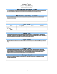 Weekly Progress Report Templates Weekly Progress Report Template Project Management Cumed Org