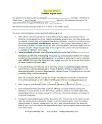 Sample Cleaning Contract Agreement Sample Cleaning Contract Forms 7 Free Documents In Word Printable