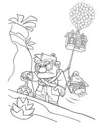 See and discover other items: Carl Fredricksen Long Faced While Dragging Russel And The House In Disney Up Coloring Page Netart