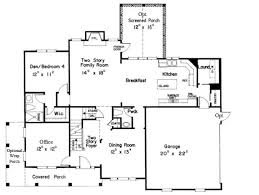 craftsman floor plans. Craftsman Floor Plan   Apex NC House Plans