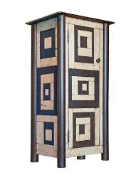 Jim Rose - One Door Housetop Quilt Cupboard For Sale at 1stdibs & Jim Rose - One Door Housetop Quilt Cupboard 1 Adamdwight.com