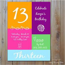 Free 13th Birthday Invitations 13th Birthday Invitations 13th Birthday Party Invitation