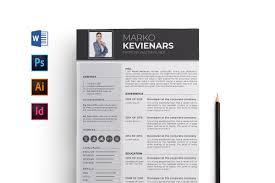 Professional Word Resume Cv Template Resume Templates Creative