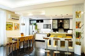 Kitchen Living Kitchen Dining And Living Room Design Home Design Ideas
