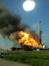 Nabors Well Service Nabors Rig Blows Out Catches Fire While Drilling Eagle Ford Shale