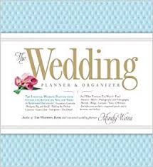 Organization Chart Of Wedding Planner Company The Wedding Planner Organizer Mindy Weiss 9780761165972