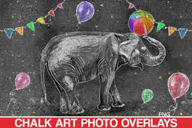This free svg cut file comes in a single zip file with the following file formats: Sidewalk Chalk Art Overlay Elephant Graphic By 2suns Creative Fabrica