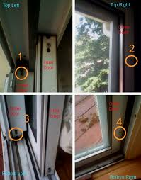how to remove sliding glass door images