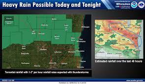 Milwaukee weather: Flash flood watch ...
