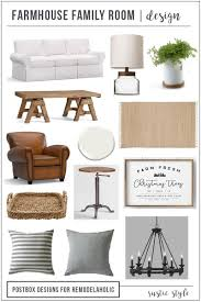 farmhouse furniture style. Tips For Creating A Beautiful Modern Rustic Farmhouse Family Room, Plus Tricks To Style An Furniture