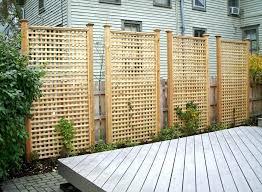 lattice backyard here are tall rectangular cedar lattice privacy panels  backyard lattice fence