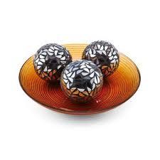 Decorative Orbs For Bowls Decorative Balls For Bowls Wayfair 48