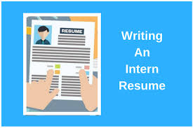 Resume Complete How To Write An Irresistible Intern Resume Complete Guide