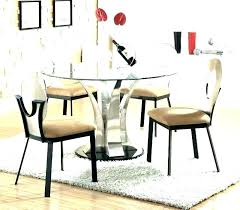 glass dining table and chairs klasssite modern round glass dining table modern glass dining table decor