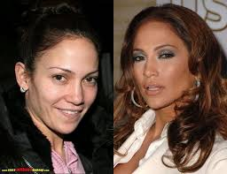 jennifer lopez before and after makeup