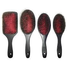goody hard bristle hair brush real bristle for styler hair