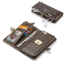 caseme iphone 6 6s detachable flip leather wallet phone case