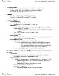 Class Notes for Bonnie Rauscher - OneClass