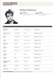 Sample Acting Resume Template Format Cv Australia Hellotojoy Co