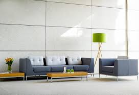sofa for office. contemporary upholstered fabric office sofa with cushions for c