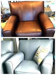 leather furniture paint can you sofa spray for couch kit canada pai leather furniture paint