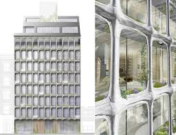 Cool real architecture buildings 3d Building 325 West Broadway Xoco 325 Ddg Soho Condos Downtown New Developments 6sqft Closer Look At How Xoco 325s Ohsocool Melting Facade Was