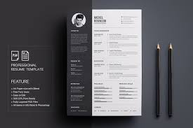 Resume Design Templates Fascinating ResumeCV Resume Templates Creative Market