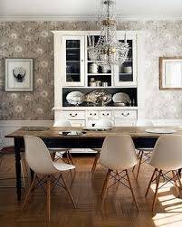 dining room image result for mid century black chairs with farmhouse table