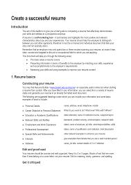 Resume Key Skills and attributes