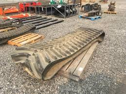 auction track 36 in rubber track qty 1 lot temp7128 equipment auction 9 19