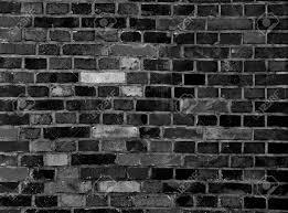black stone wall texture. Black Brick Wall Texture Grunge Background Stock Photo - 44092812 Stone