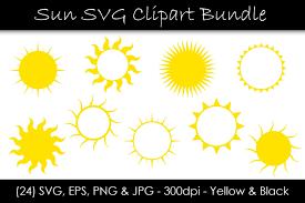 Showing 30 of 39 blog posts. Sun Svg Bundle Sun Shape Clip Art 559582 Objects Design Bundles