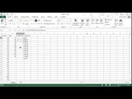 Excel 2013 Frequency Function Creating Histograms