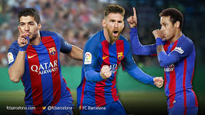 Goals Bt Ween Messi And Neymar Jr Trident closing in on 24 goals FC Barcelona 6 115616