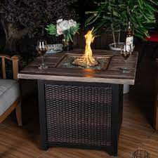 50000 Btu Fire Pits Outdoor Heating The Home Depot