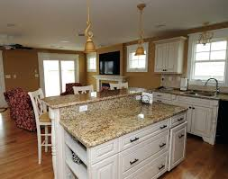 Backsplash For Santa Cecilia Granite Countertop Beauteous Santa Cecilia Granite Countertops Granite St White Cabinets Pictures