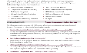 Hr Manager Resume Sample Download India Human Resources Template
