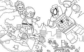 Spider Man Web Warriors Ultiem Brugduel Kleurplaten Lego