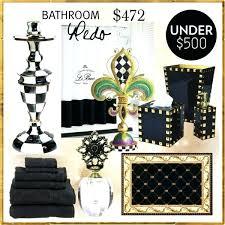 gold bath sets black and white bathroom set black and white bath towel sets black and gold bath